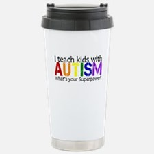 I teach kids with Autism Travel Mug