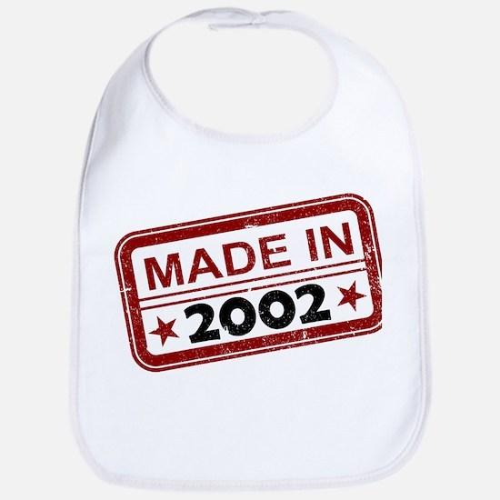 Stamped Made In 2002 Bib