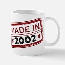 Stamped Made In 2002 Mug