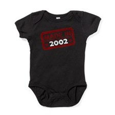 Stamped Made In 2002 Baby Bodysuit