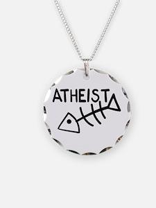 Atheist Fish Necklace