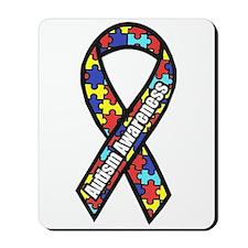 Awareness Ribbon Scanned 2.png Mousepad