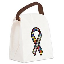 awareness ribbon scanned 2.png Canvas Lunch Bag