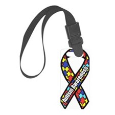 Awareness Ribbon Scanned 2.png Luggage Tag