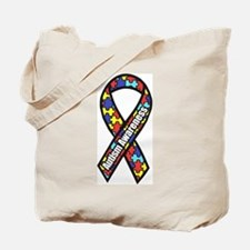 awareness ribbon scanned 2.png Tote Bag