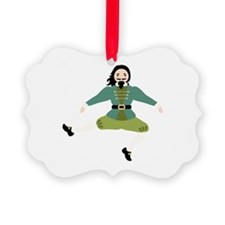 Leaping Lord Ornament