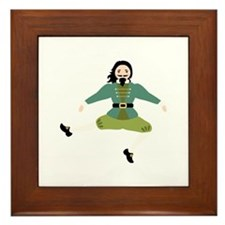 Leaping Lord Framed Tile
