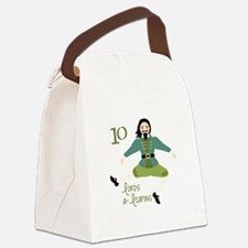10 loRDS a- leaPiNG Canvas Lunch Bag