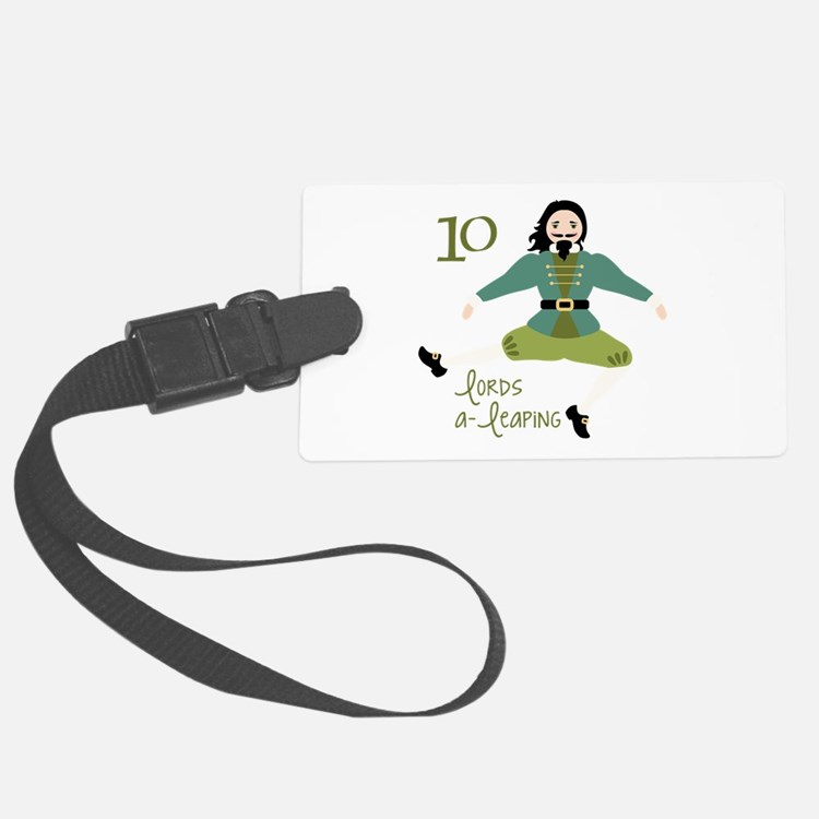 10 loRDS a- leaPiNG Luggage Tag
