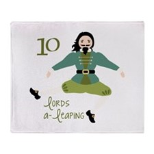 10 loRDS a- leaPiNG Throw Blanket