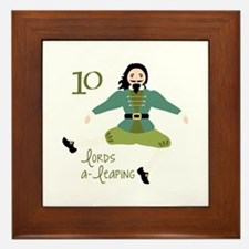 10 loRDS a- leaPiNG Framed Tile