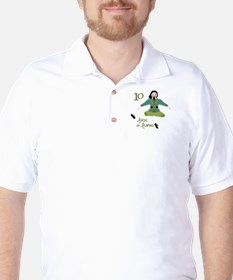 10 loRDS a- leaPiNG Golf Shirt