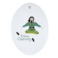 Prince Charming Ornament (Oval)