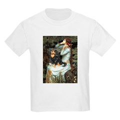 Ophelia & Cavalier (BT) Kids Light T-Shirt
