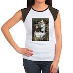 Ophelia & Cavalier (BT) Women's Cap Sleeve T-Shirt