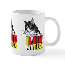 I Luv My Tuxedo Cat! Mugs