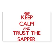 Keep Calm and Trust the Sapper Decal