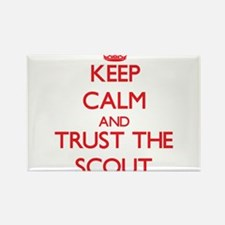 Keep Calm and Trust the Scout Magnets