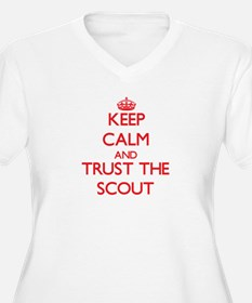 Keep Calm and Trust the Scout Plus Size T-Shirt