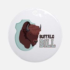 BUFFALO BILL Ornament (Round)
