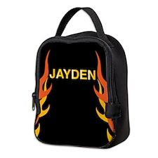 Jayden Flame Neoprene Lunch Bag