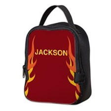 Jackson Flame Neoprene Lunch Bag
