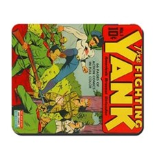 Fighting Yank #1 Mousepad