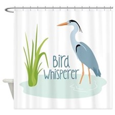 Bird Whisperer Shower Curtain