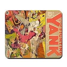 Fighting Yank #4 Mousepad