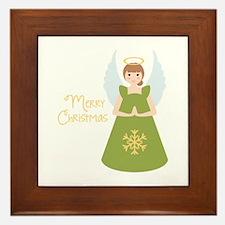 Merry Christmas Framed Tile