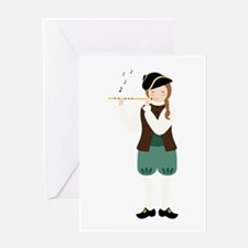 Scottish Piper Greeting Cards