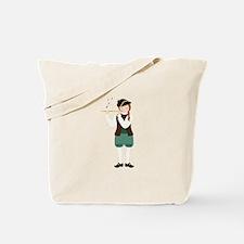 Scottish Piper Tote Bag