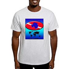 Antarctica Dive Flag T-Shirt