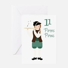 11 PiPeRS PiPiNG Greeting Cards