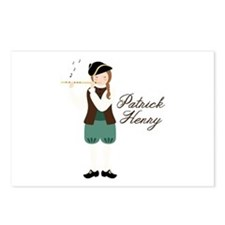 Patrick Henry Postcards (Package of 8)