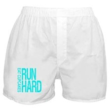 Run Hard Eat Cupcakes Boxer Shorts