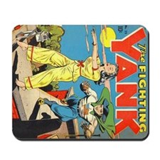 Fighting Yank #25 Mousepad