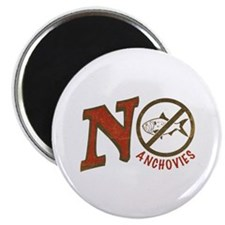 No Anchovies Magnet