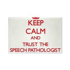 Keep Calm and Trust the Speech Pathologist Magnets
