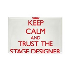 Keep Calm and Trust the Stage Designer Magnets