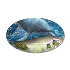 The World Of The Dolphin Wall Decal