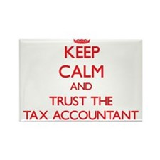 Keep Calm and Trust the Tax Accountant Magnets