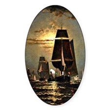 Sailing by Moonlight Decal