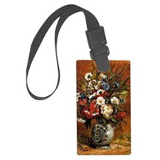 Gauguin - Daisies and Peonies in Luggage Tag