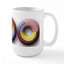 USA - Colombia Mug