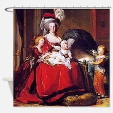 Lebrun: Marie Antoinette & children Shower Curtain