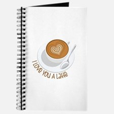 I Love You A Latte Journal
