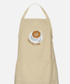 I Love You A Latte Apron