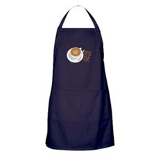 Baristas Do It With Love Apron (dark)
