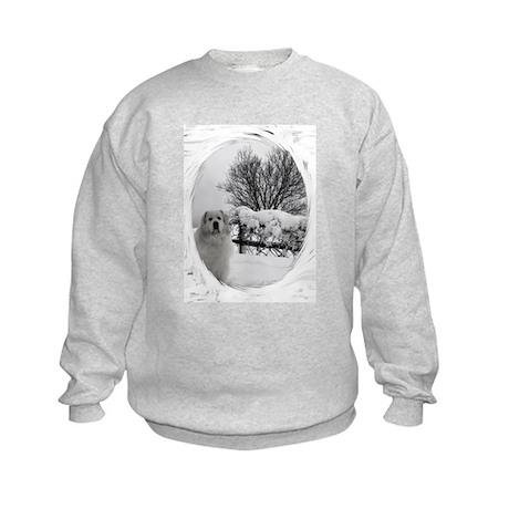 Great Pyrenees Kids Sweatshirt